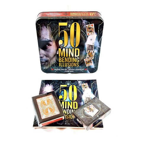50 Mind Bending Illusions - Hobby Tin