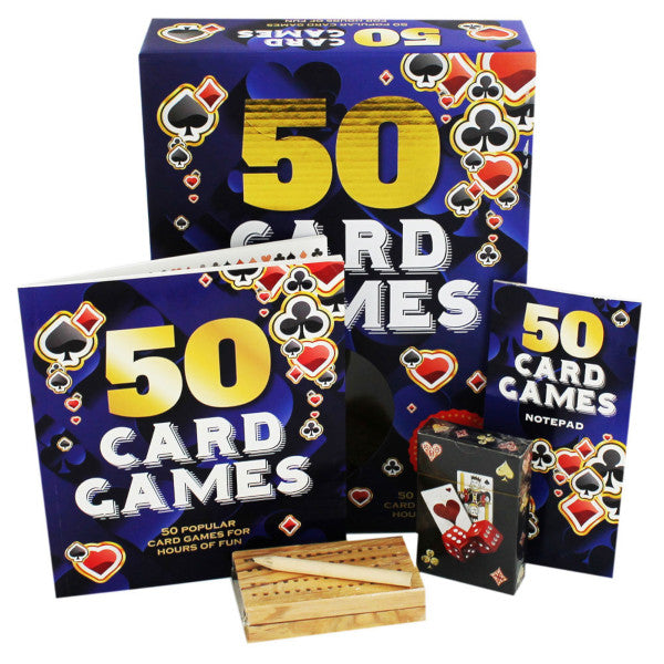 50 Card Games in a Box