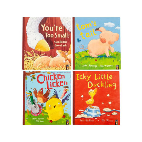 Farmyard Friends Collection 20-Hardcover Book Box Set