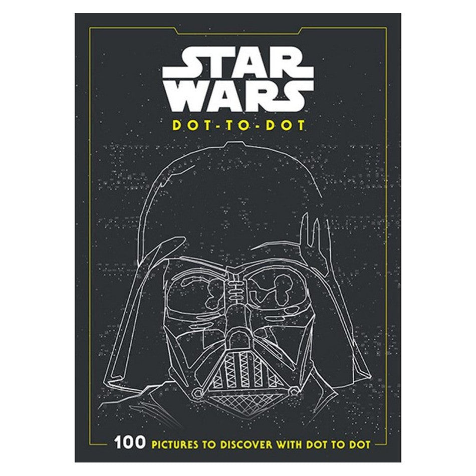 Star Wars 'Dot to Dot' Drawing Book over 100 pictures