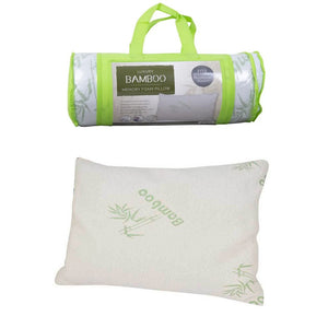 Luxury Bamboo Memory Foam Pillow