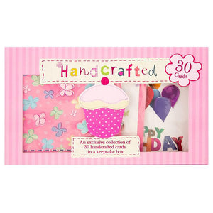 Handcrafted Occasional Cards 30pk
