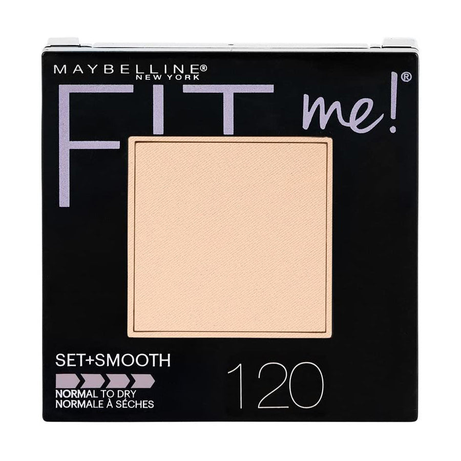 Maybelline Fit Me Set + Smooth Powder Foundation 9g - 120 Classic Ivory