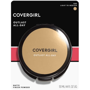 Covergirl Outlast All-Day Matte Finishing Powder - 830 Light To Medium - 11g
