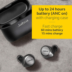 Jabra Elite 75T Truly Wireless Headphones - Titanium Black