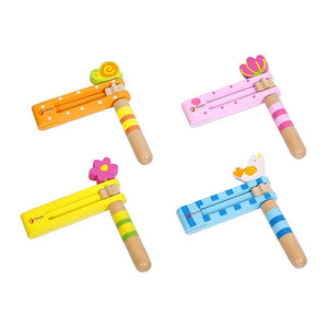 Classic World Kids Wooden Ratchet Musical Toy Assorted