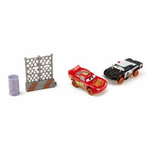 Disney Pixar Cars 3 Crazy 8 Crashers APB & Lightning McQueen Vehicle 2-Pack