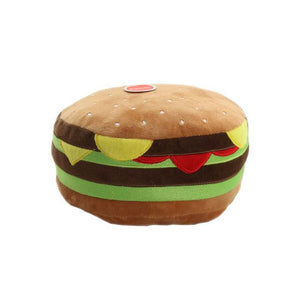 Paws & Claws Fast Food Mega Burger Squeaky Plush