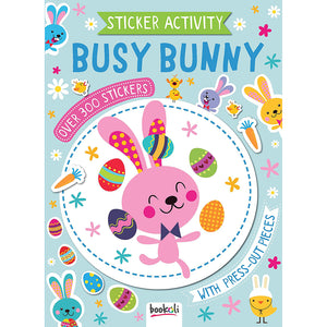 Easter Busy Bunny Sticker Activity Book