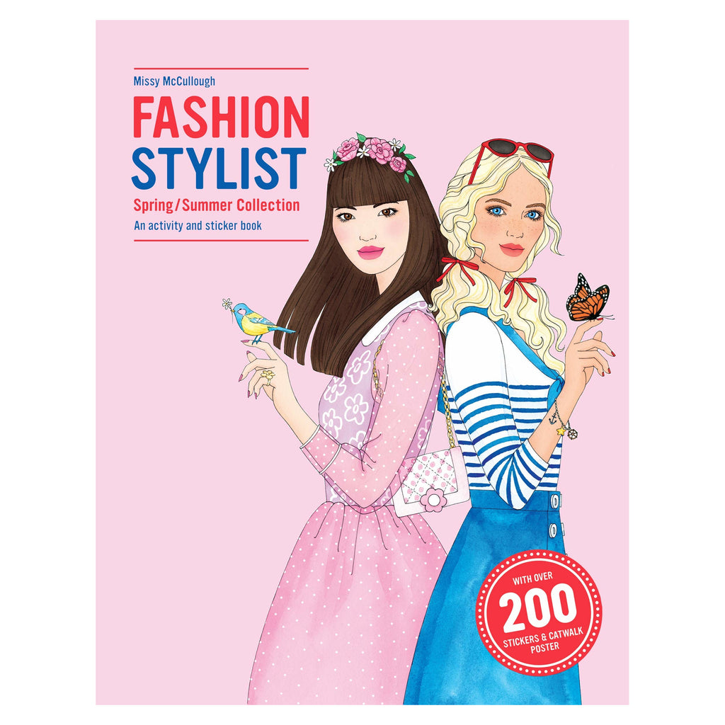 Fashion Stylist Spring/Summer Collection - Activity and Sticker Book