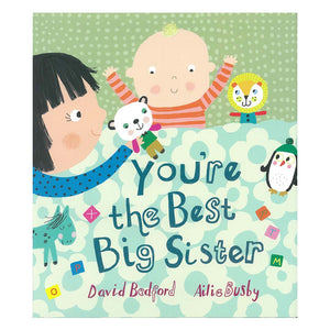 You're the Best Big Sister - Hardcover Book