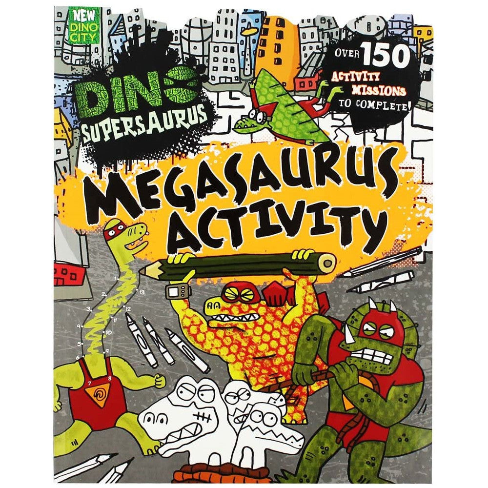 Dino-SuperSaurus Megasaurus Activity Book
