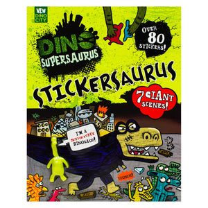 Dino-SuperSaurus Sticker Book