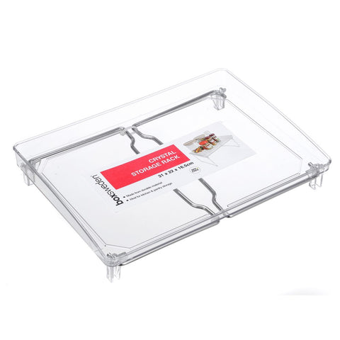 Boxsweden Crystal Clear Storage Rack