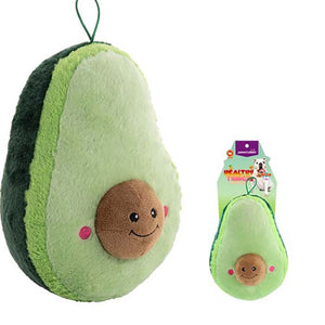 Paws & Claws Healthy Thingz Mega Avocado Squeaky Plush