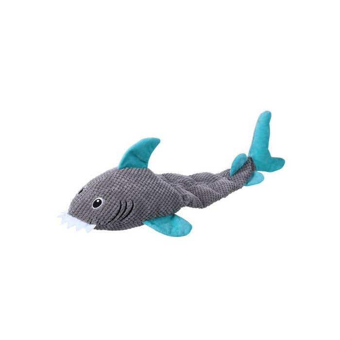 Paws & Claws Aquatic Animals Giant Shark Squeaky Plush