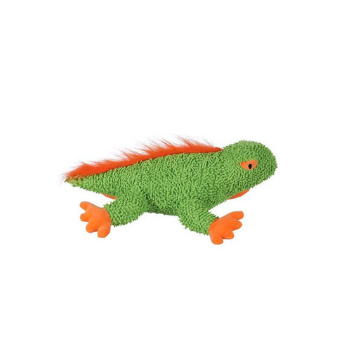 Paws & Claws Who Zoo Iguana Squeaky Plush