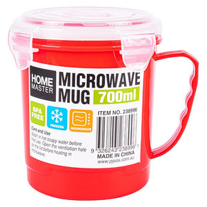 Microwave Mug with Lid 700ml