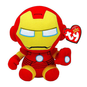 "Ty Beanie Babies Collection 6"" Iron Man Plush Toy"