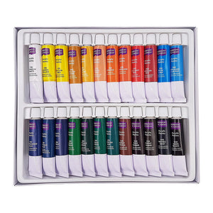 Derwent Academy Acrylic Paints 12ml - 24 Pack