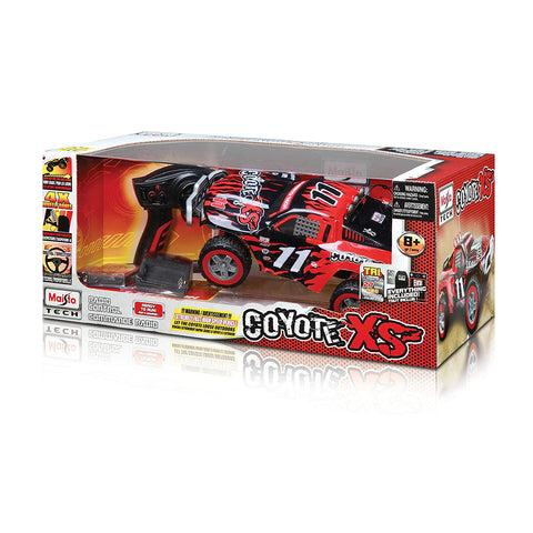 Maisto R/C Off-Road Coyote XS Truck Toy - Red
