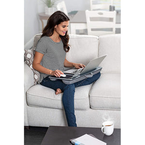 Multi-Functional Lap Station with Polyester Dual Bolster Cushion