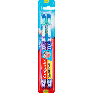 6 x Colgate Extra Clean Toothbrush - Medium(2 Pack)