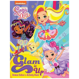 Nickelodeon Sunny Day Glam It Up Deluxe Colour & Activity Book