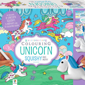 Kaleidoscope Colouring: Unicorn Squishy Kit