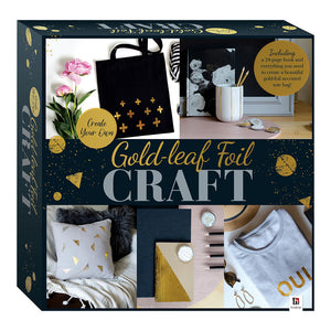 6-Piece Create Your Own Gold-leaf Foil Craft Box Set