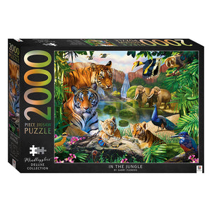 2000 Piece Jigsaw Puzzle: In The Jungle
