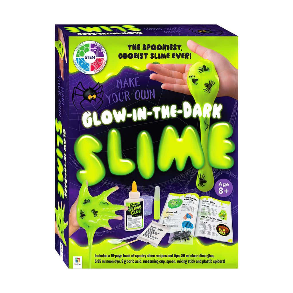 Make Your Own Glow-in-the-Dark Slime (Slime Kit)