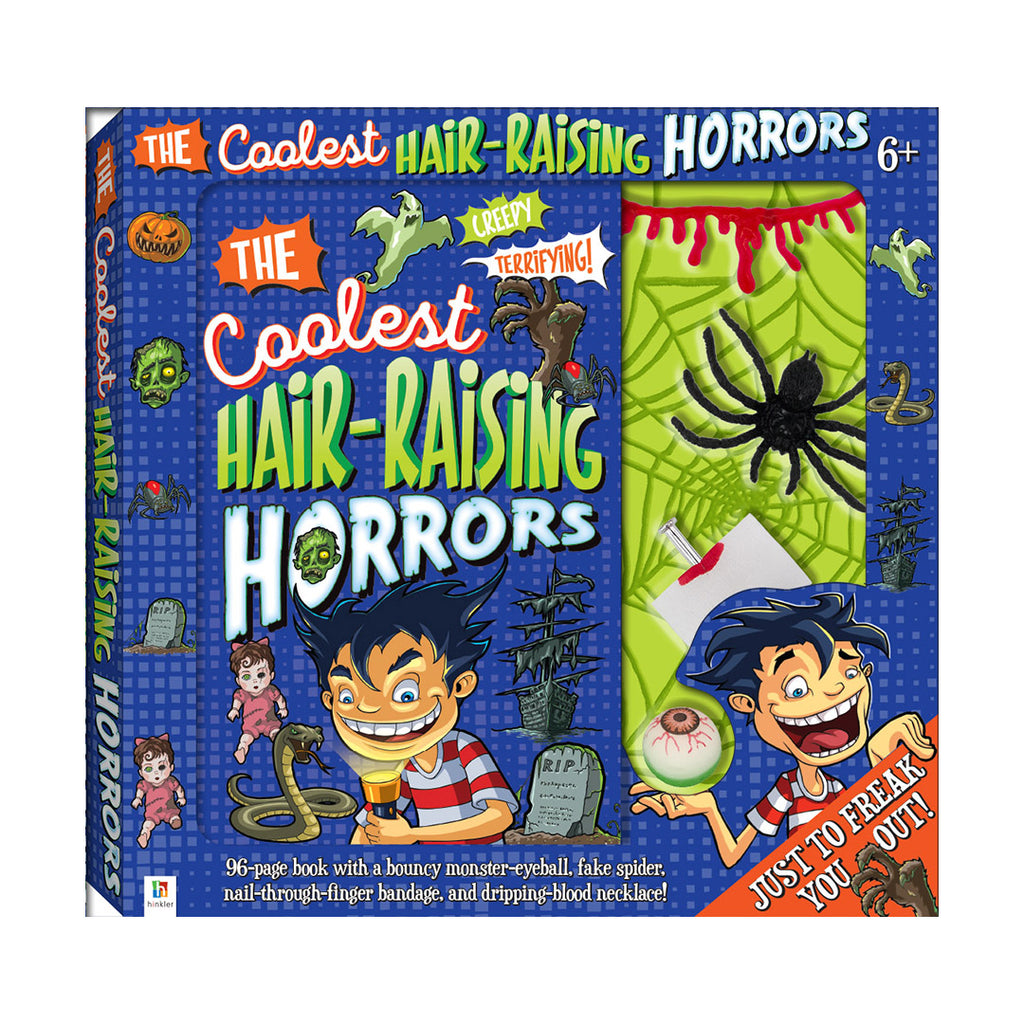 The Coolest Hair-Raising Horrors Book & Activity Set
