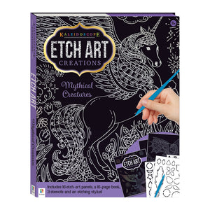 Kaleidoscope Etch Art Creations: Mythical Creatures