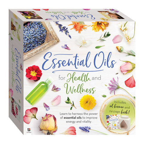 Essential Oils For Health & Wellness Kit