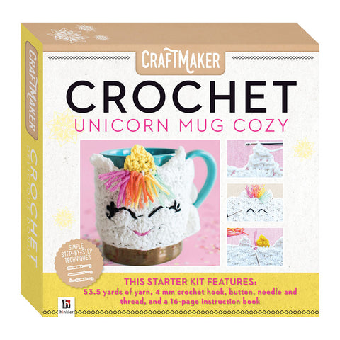 Craft Maker Crochet: Unicorn Mug Cozy