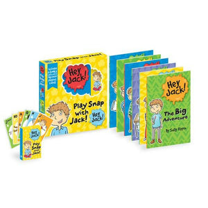 Hey Jack 'Play Snap With Jack' 6 Book Activity Set