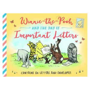 Winnie-The-Pooh and the Day of Important Letters Book