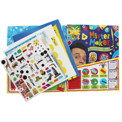 Mister Maker - Around the World activity book