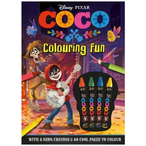 Disney - Pixar 'Coco' Colouring Fun