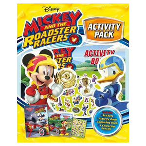 Disney Mickey And The Roadster Racers Activity Pack