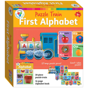 Puzzle Train: First Alphabet