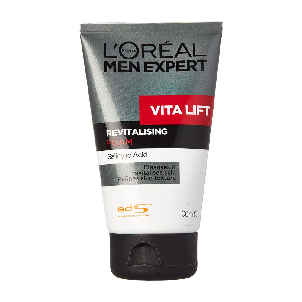 L'Oreal Men Expert Vita Lift Revitalising Foam Salicylic Acid 100ml