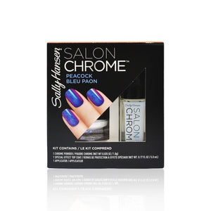 Sally Hansen Salon Chrome Kit Peacock Bleu Paon