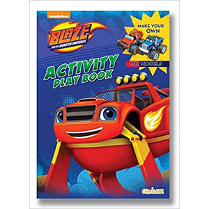 Blaze and the Monster Machines: Activity Play Book