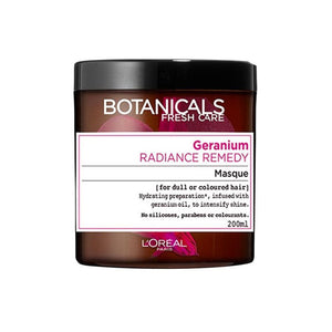 L'Oreal Botanicals Fresh Care Geranium Radiance Remedy Masque 200ml