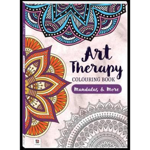 Art Therapy-Colouring Book: Mandalas and More