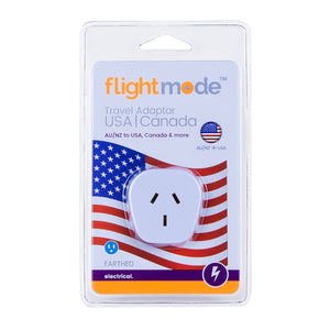 Flightmode Travel Adaptor AU/NZ to  USA | Canada