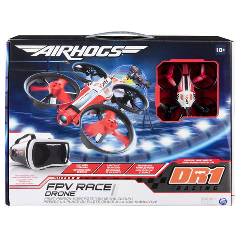 Air Hogs DR1 FPV Race Drone - Black/Red/White