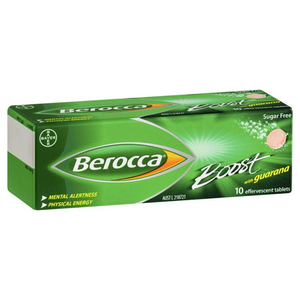 Berocca Boost: Effervescent Tablets with Guarana (10pk)